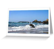 Coastal 3 Glass Beach Greeting Card