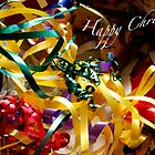 Happy Christmas card by Heather Thorsen