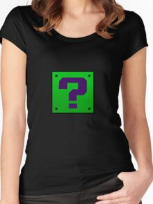 Riddler Bros Women's Fitted Scoop T-Shirt