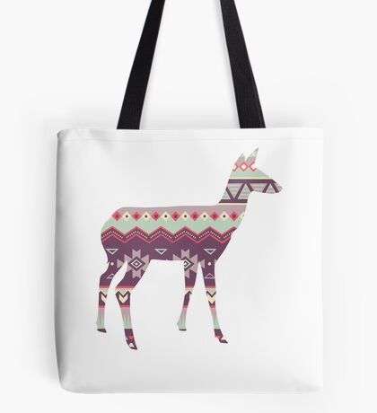 Tribal Deer  Tote Bag