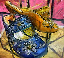 Fancy Shoes by suzannem73