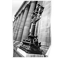 10 Trinity Square - Pillar Modelled Lampost Poster