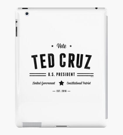Vote Ted Cruz 2016 iPad Case/Skin