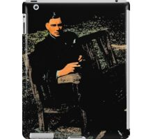 WWII Airman in England iPad Case/Skin
