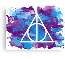 Splatter Hallows  Canvas Print