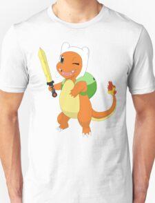 Charmander's finn cosplay T-Shirt