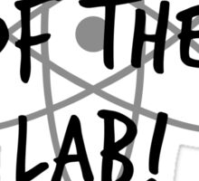 King of the Lab! 2 Sticker