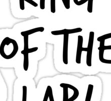King of the Lab! Sticker