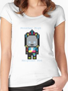 Dangan Island Neigthan Rot Sprite Women's Fitted Scoop T-Shirt