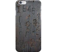 Weller's Barrel House Detail iPhone Case/Skin