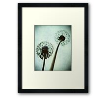 from underneath Framed Print