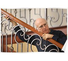 Curb your larry david Poster