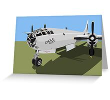 B29 Superfortress Bomber Greeting Card