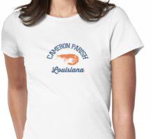 Cameron Parish - Louisiana. Womens Fitted T-Shirt