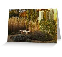 Le Jardin de Vincent Greeting Card