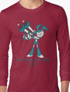 Teenage Robot - Raise Your Lasers Long Sleeve T-Shirt