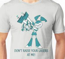 Teenage Robot - Raise Your Lasers Unisex T-Shirt