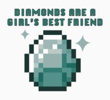 Diamonds are a girl's best friend (minecraft) by kzenabi