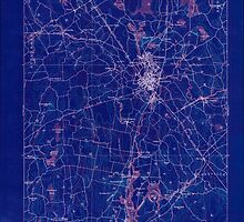 Massachusetts  USGS Historical Topo Map MA Taunton 353067 1893 62500 Inverted by wetdryvac