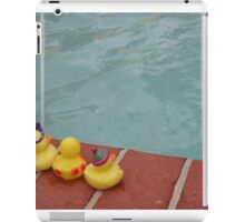 The Ducky who couldn't swim iPad Case/Skin