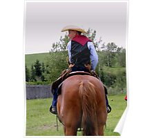 Young Cowboy Poster