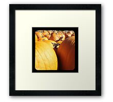 TTV- the patch Framed Print