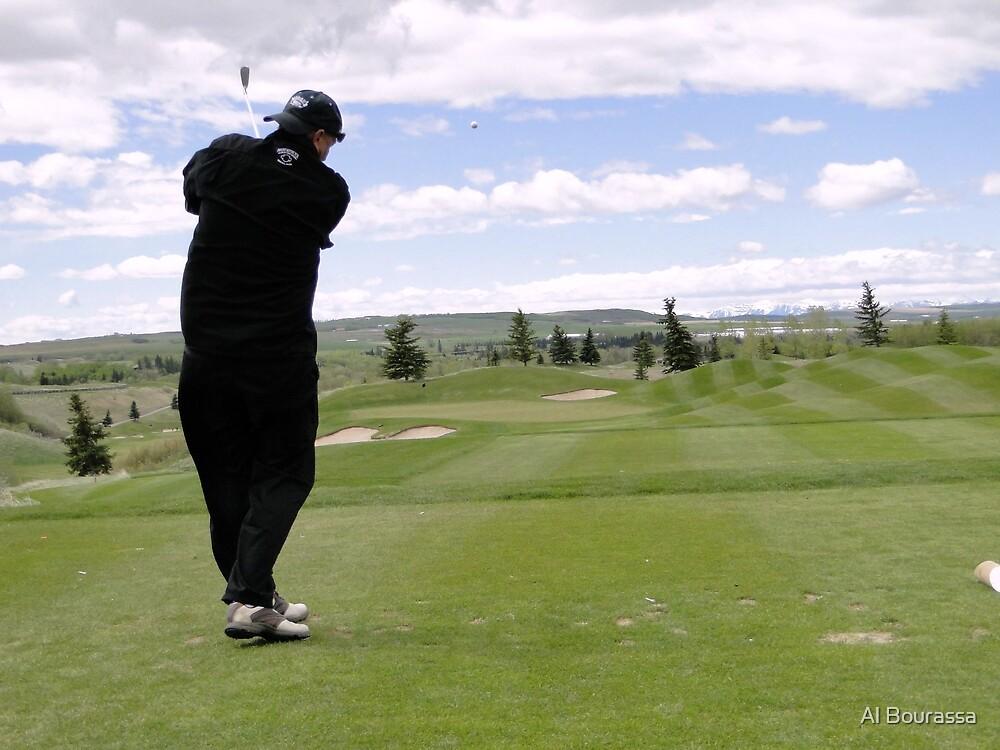 Golf Swing M by Al Bourassa