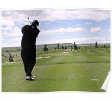 Golf Swing M Poster