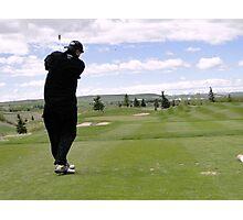 Golf Swing M Photographic Print