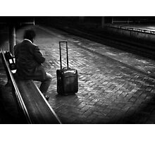 late commuter Photographic Print