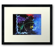 10-minute Painting Framed Print