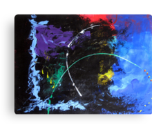 10-minute Painting Canvas Print