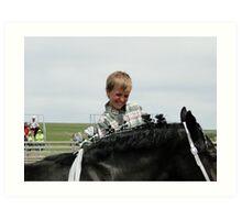 Horse Dresser Art Print