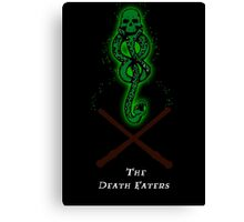 The Death Eaters Canvas Print