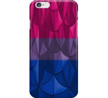 Geometric Bi Pride iPhone Case/Skin