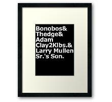 Bonobos & Thedge Framed Print