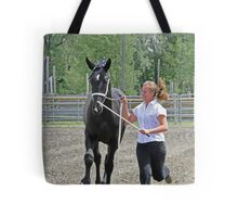 Running For Show Tote Bag