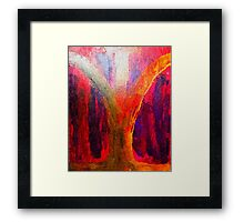Twin Souls: Crystalised Reality Framed Print