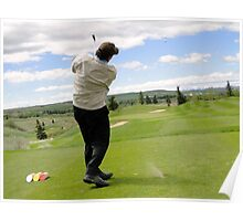 Golf Swing N Poster