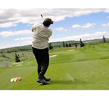Golf Swing N Photographic Print