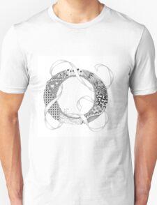 Zentangle®-Inspired Art - Tangled Alphabet - O T-Shirt