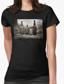 Cheers To The Past Womens Fitted T-Shirt
