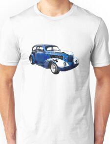 1937 Blue Pontiac Sedan classic car Unisex T-Shirt