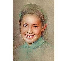 Portrait of a young lady Photographic Print