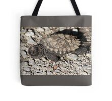 Baby snapping turtle Tote Bag