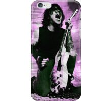 Frank Iero Purple Edit iPhone Case/Skin