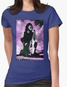 Frank Iero Purple Edit Womens Fitted T-Shirt