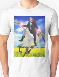Obama unicorn win Unisex T-Shirt