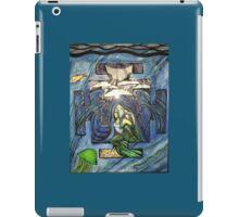 Mermaid pose in color iPad Case/Skin
