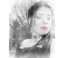 The Blood Countess Photographic Print